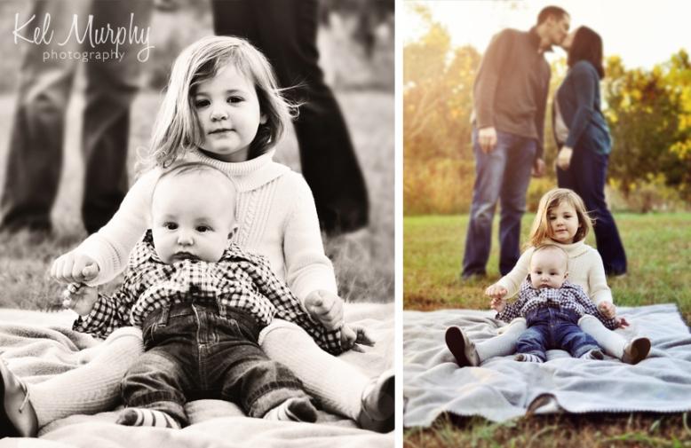 Fall mini session in burholme Philadelphia family of four