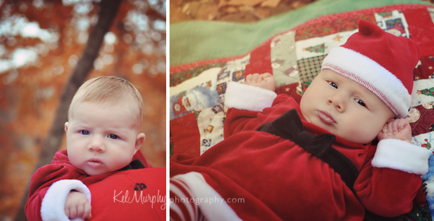 Winter family mini session with parents and 2 month old baby girl in Philadelphia, PA