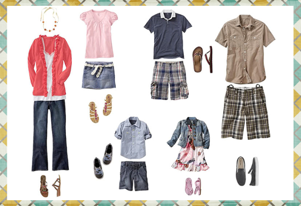 Kel Murphy Photography shows what to wear guides for your spring 2013 photography session