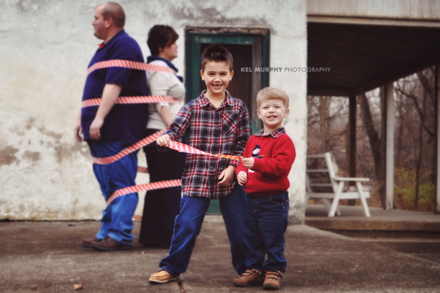 Kel Murphy Photography Two Silly Boys Winter Philadelphia Family Session