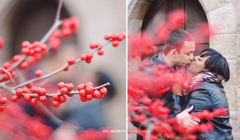 Kel Murphy Photography Winter Love Engagement Session Philadelphia Bryn Athyn 13