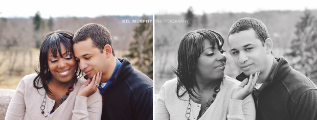 Kel Murphy Photography Winter Love Engagement Session Philadelphia Bryn Athyn 9