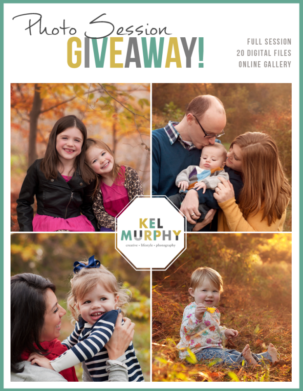 Photo Session Giveaway Kel Murphy Photography Montgomery County PA Philadelphia