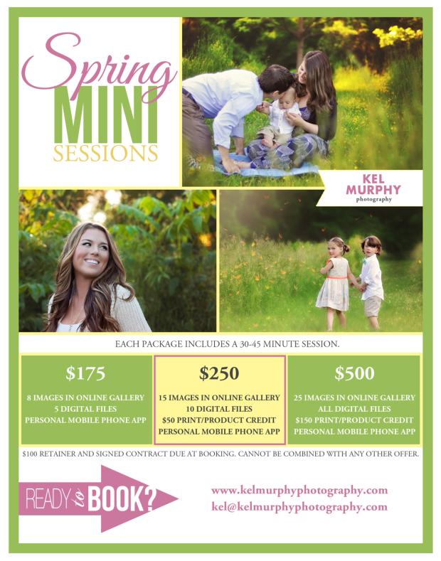 Spring Mini Sessions Philadelphia Montgomery County PA Abington Jenkintown Kel Murphy Photography