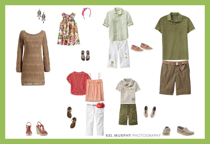 What to wear guide spring photographer clients Kel Murphy Photography