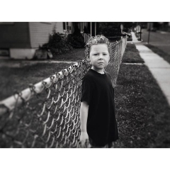 Kel-Murphy-Photography-boy-leaning-on-fence-Instagram-Project-365-Child-Children-Photographer-Philadelphia-Abington-Montgomery-County-Bucks-PA-2015-14