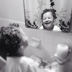 Kel-Murphy-Photography-boy-making-faces-laughing-reflection-bathroom-mirror-Instagram-Project-365-Child-Children-Photographer-Philadelphia-Abington-Montgomery-County-Bucks-PA-2015-7