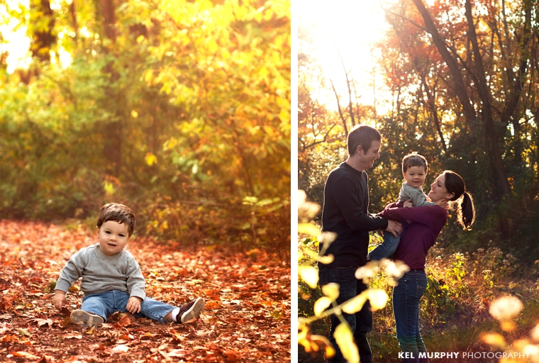 Kel-Murphy-Photography-Philadelphia-Child-Photographer-Montgomery-County-Bucks-County-Family-Families-Children-High-School-Senior-Portraits-family-of-three-outside-fall-foliage