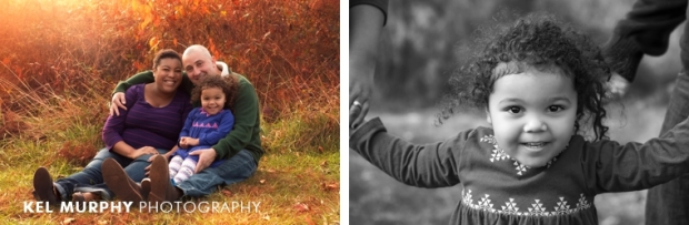 Family of three mommy pregnant maternity the fall sunset golden hour photo shoot session by Kel Murphy Photography