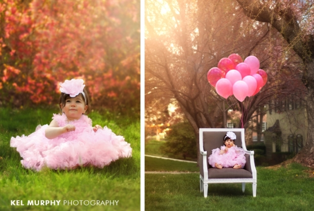 One Year Old Birthday In Home Session Montgomery County Child